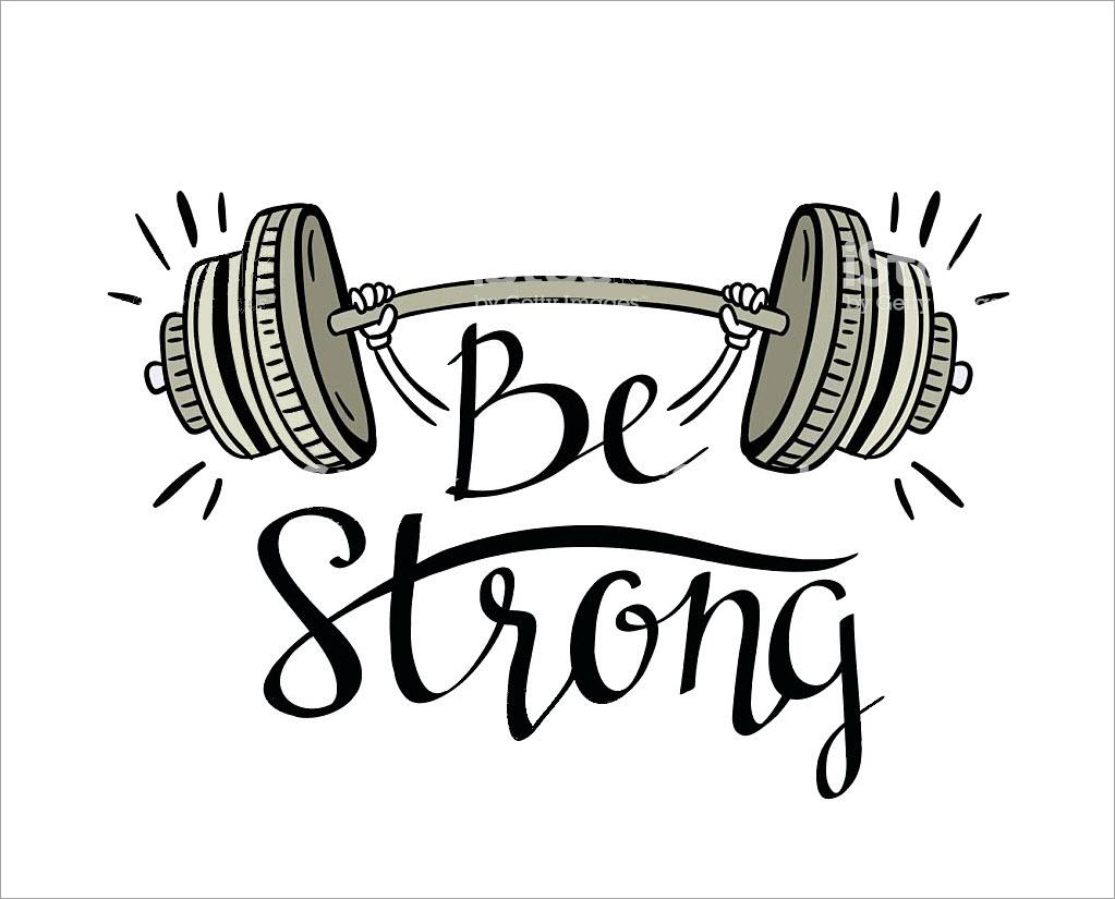 Hình ảnh be strong