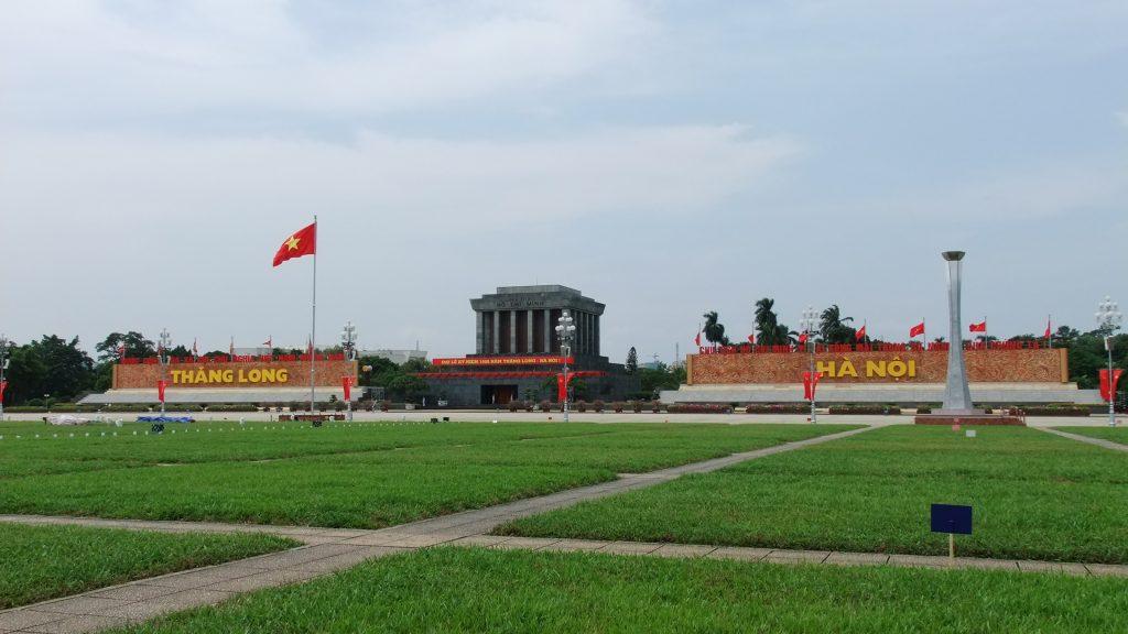 Hình ảnh đẹp về lăng Bác và quảng trường Ba Đình