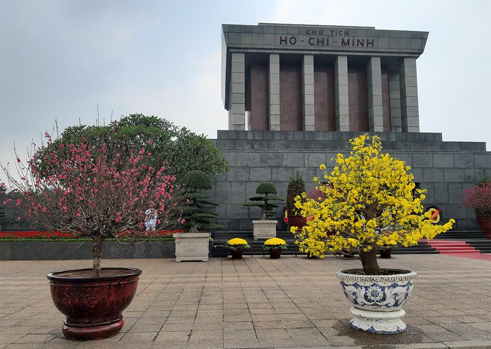 Hình ảnh lăng chủ tịch Hồ Chí Minh đẹp