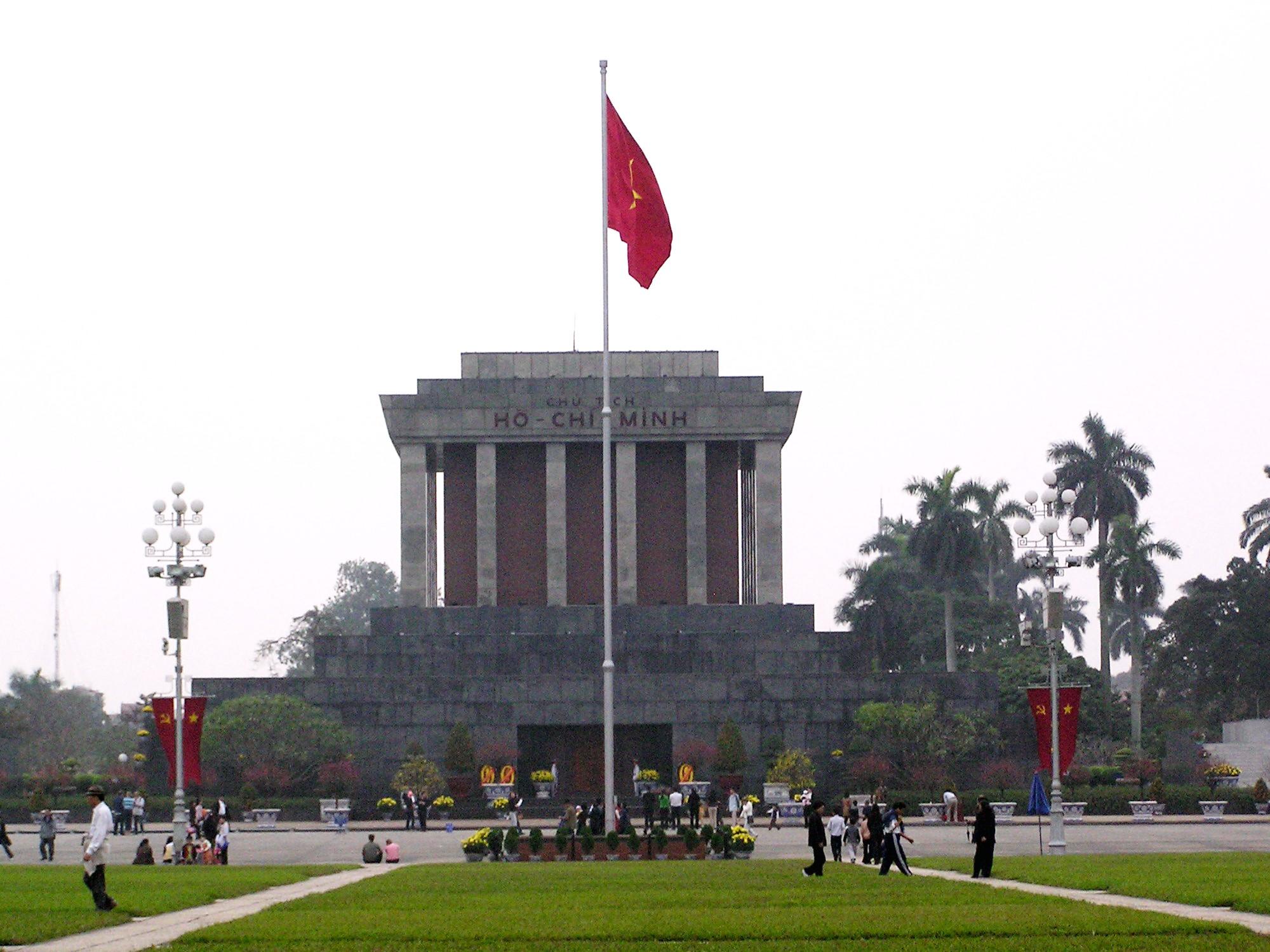 Hình ảnh lăng Hồ Chí Minh cực đẹp