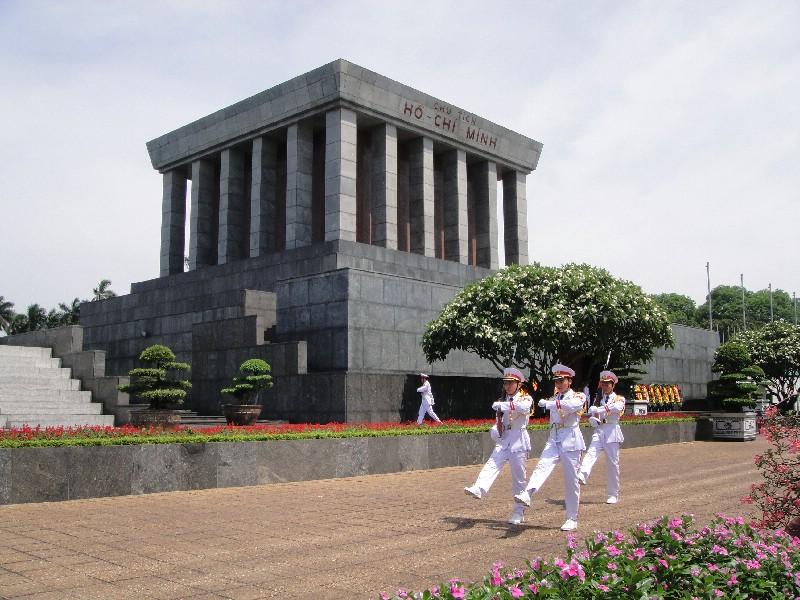 Hình ảnh lăng Hồ Chí Minh