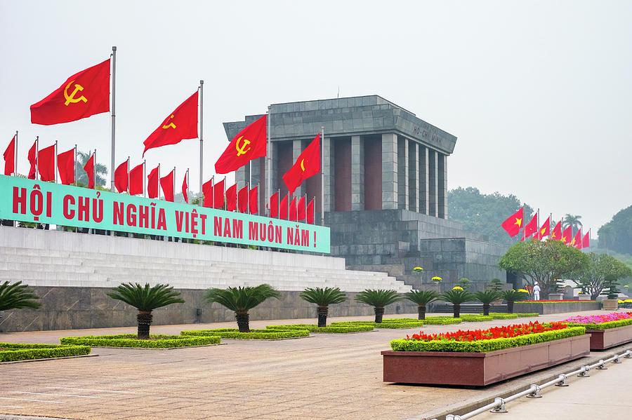 Hình ảnh lăng Hồ Chủ Tịch đẹp