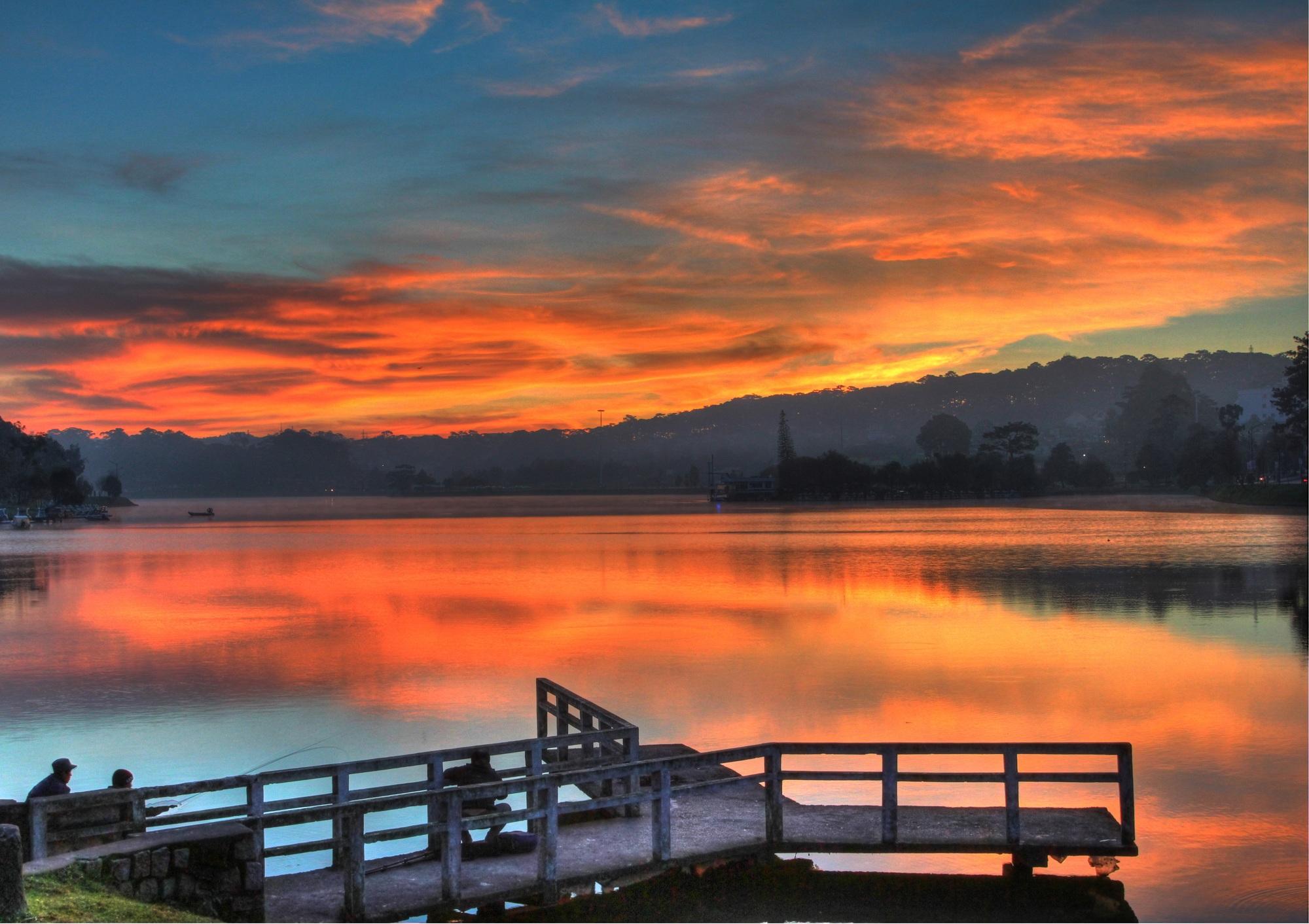 Hồ Xuân Hương Đà Lạt đẹp
