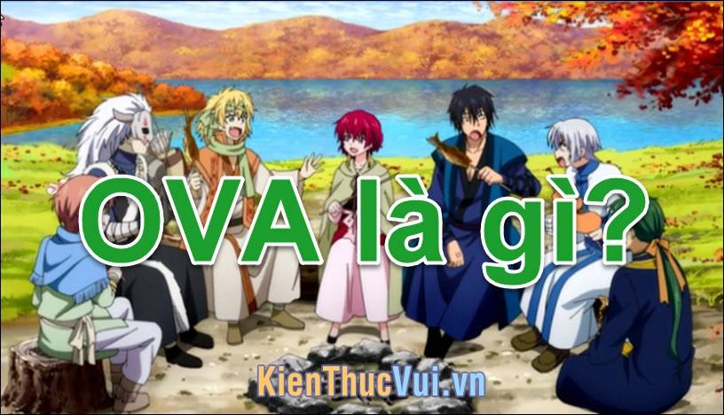 OVA là gì? Nó khác với Anime chỗ nào