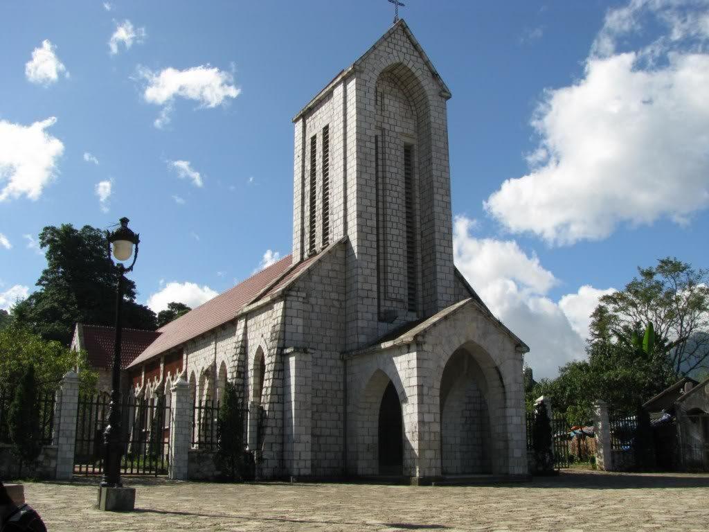 Hình ảnh nhà thờ cổ Sapa cực đẹp