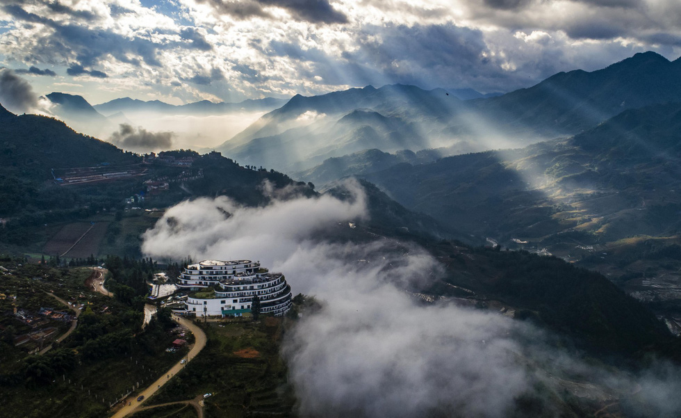 Hình ảnh núi non hùng vĩ ở Sapa