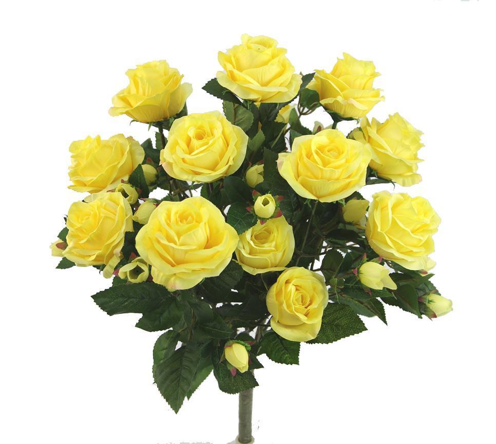 Hình ảnh bó hoa Hồng màu vàng đẹp