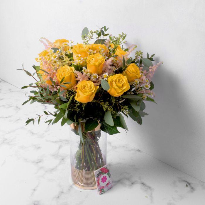 Hình ảnh lọ hoa hồng đẹp