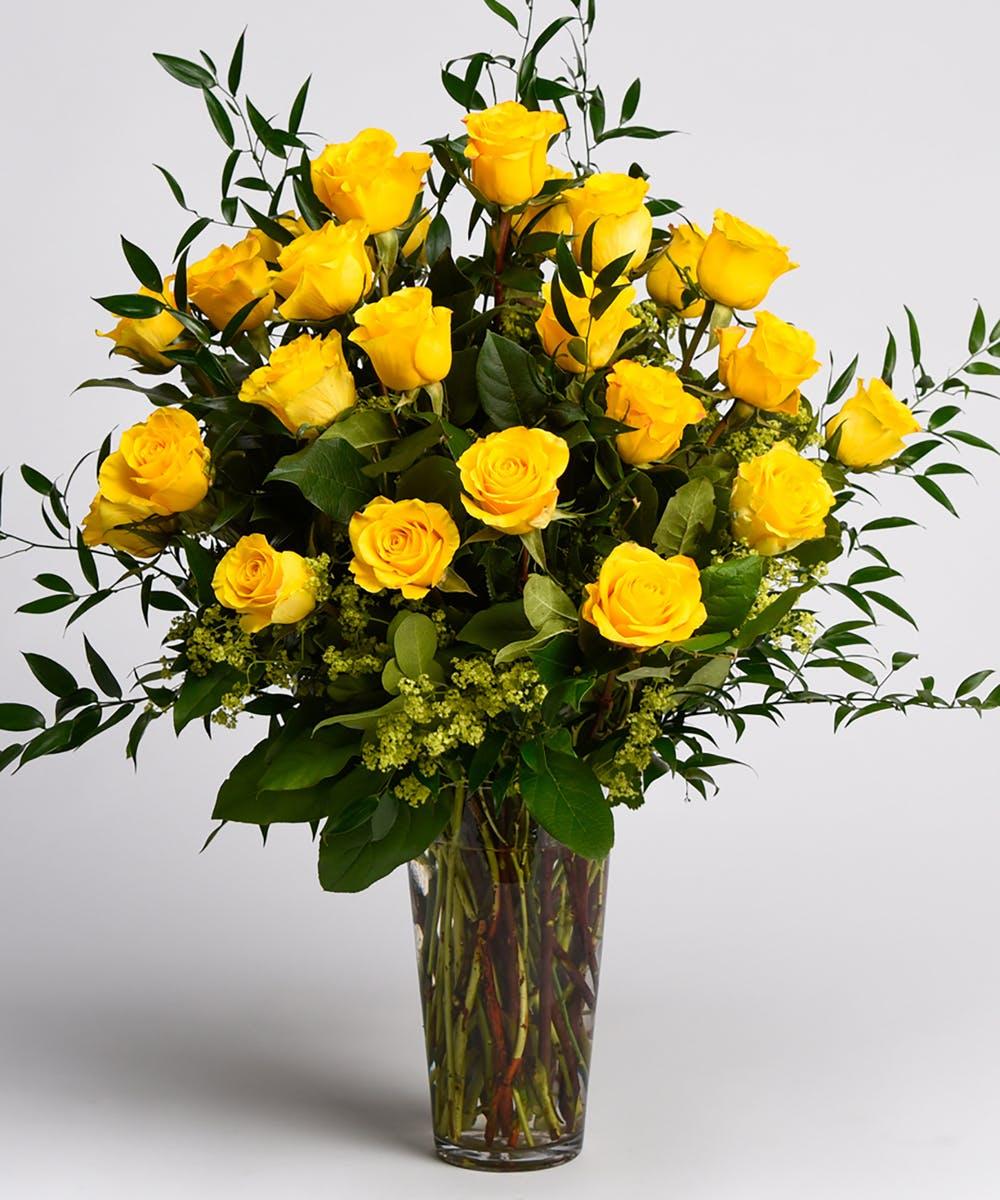 Hình ảnh lọ hoa Hồng vàng đẹp