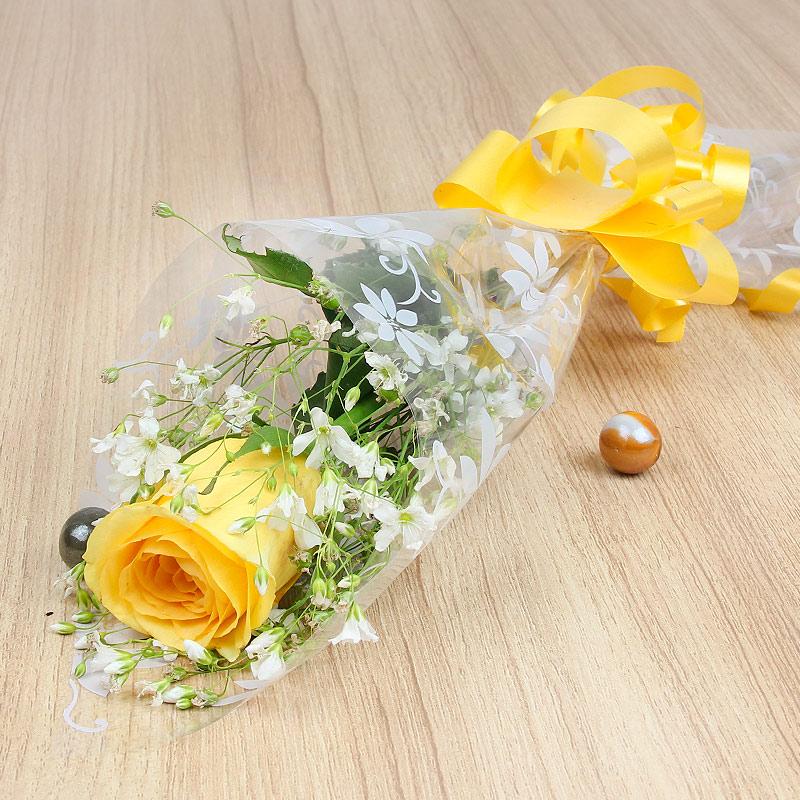 Hình bông hoa hồng vàng đẹp
