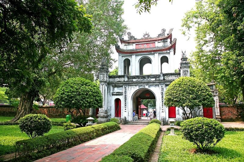 Vườn cây Văn Miếu