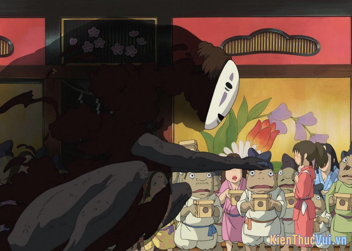 Spirited Away là hành trình phiêu lưu của cô bé 10 tuổi Chihiro ở vùng đất của những linh hồn
