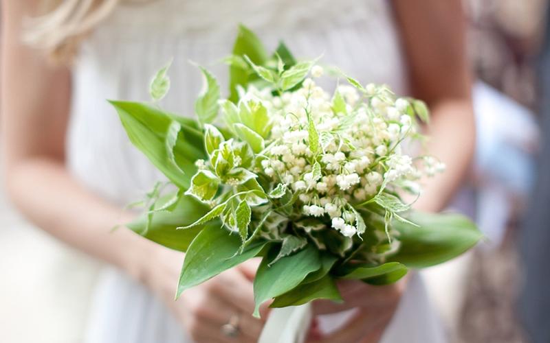 Hình ảnh bó hoa Linh Lan hoa cưới cho cô dâu đẹp nhất