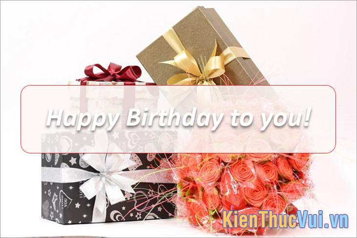 Xin chúc mừng sinh nhật của một trong những công dân xinh đẹp