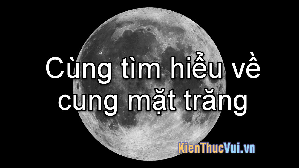 Cung Mặt Trăng là gì? Cùng tìm hiểu về cung Mặt Trăng