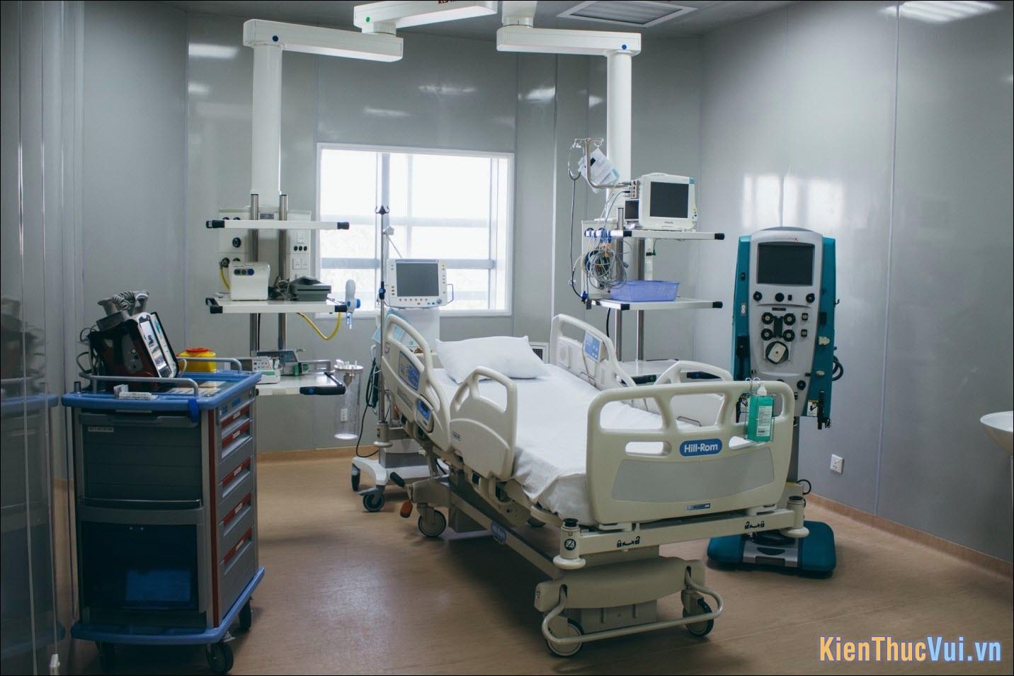 Định nghĩa phòng ICU