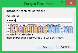 Nhập mật khẩu file PowerPoint