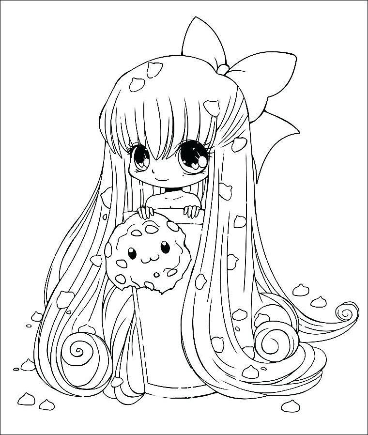 Tô màu công chúa chibi đẹp