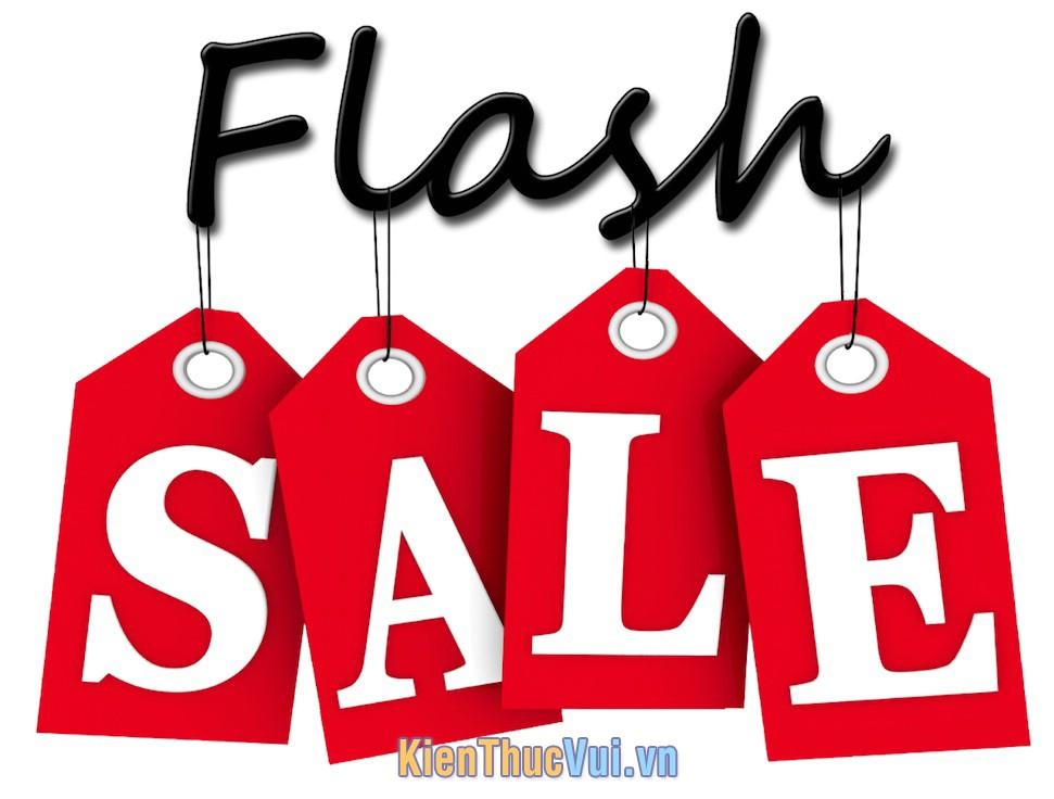 Flash sale là gì