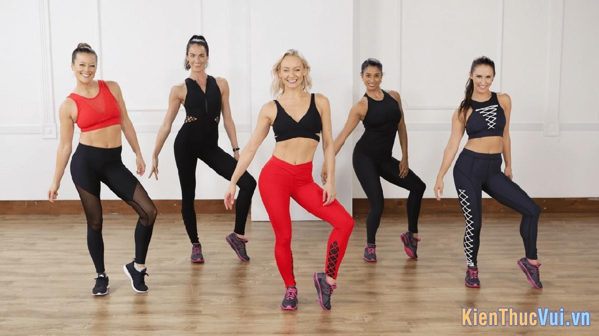 Nhảy Zumba giúp bạn tăng độ bền