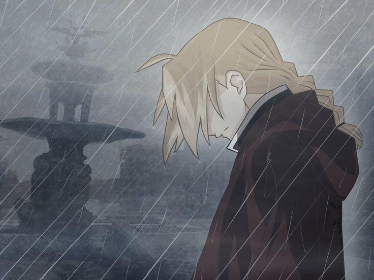 Ảnh anime mưa buồn