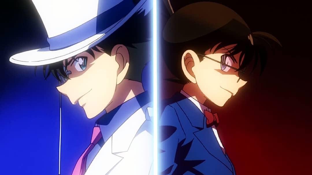 Ảnh đẹp Shinichi và Conan