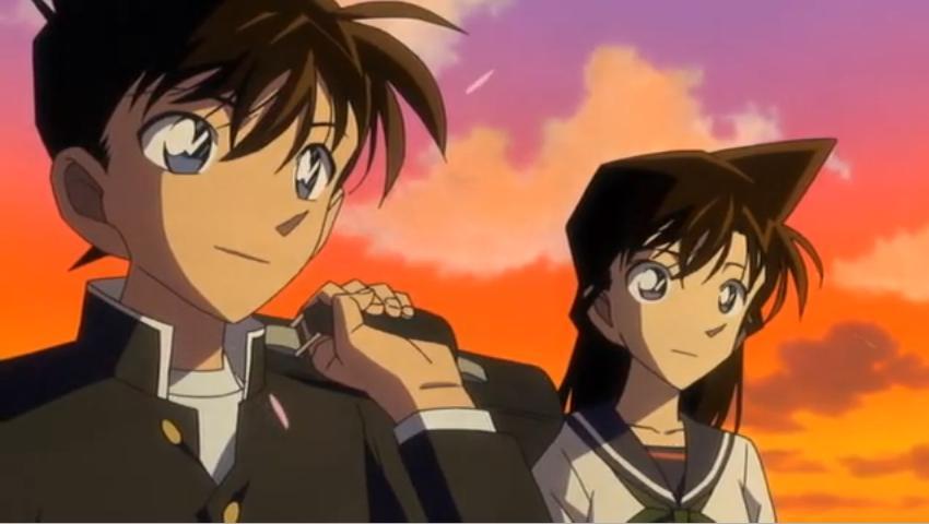 Ảnh đẹp Shinichi và ran