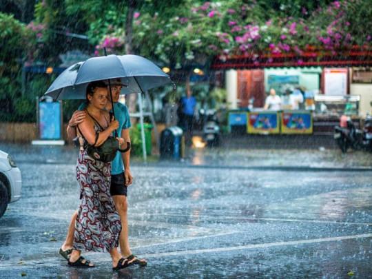 Ảnh đẹp trời mưa lãng mạn