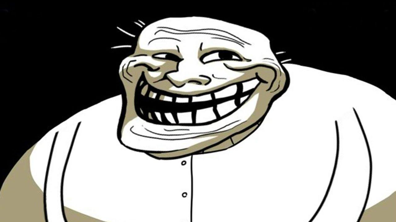 Ảnh mặt troll cười ghép