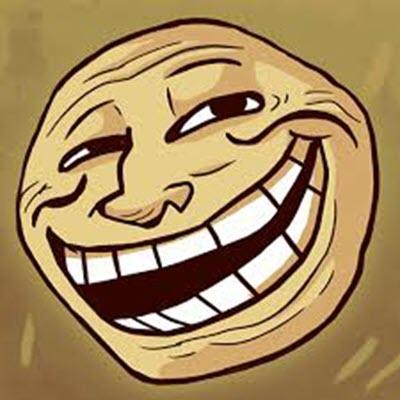 Ảnh mặt troll cười