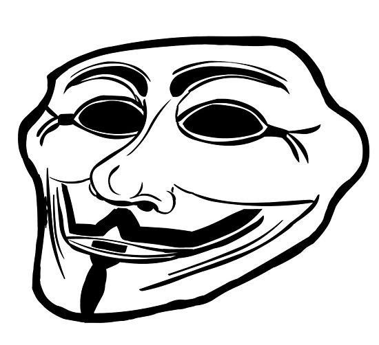 Ảnh mặt troll hacker