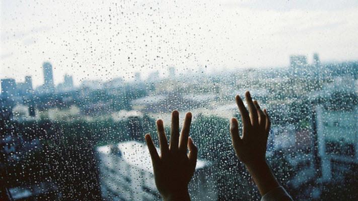 Ảnh mưa buồn nhớ người yêu
