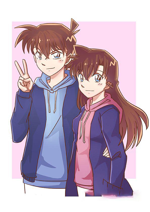 Hình ảnh cặp đôi shinichi và ran