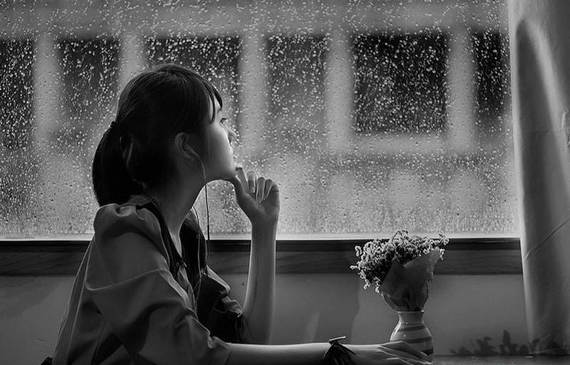 Hình ảnh mưa buồn đẹp