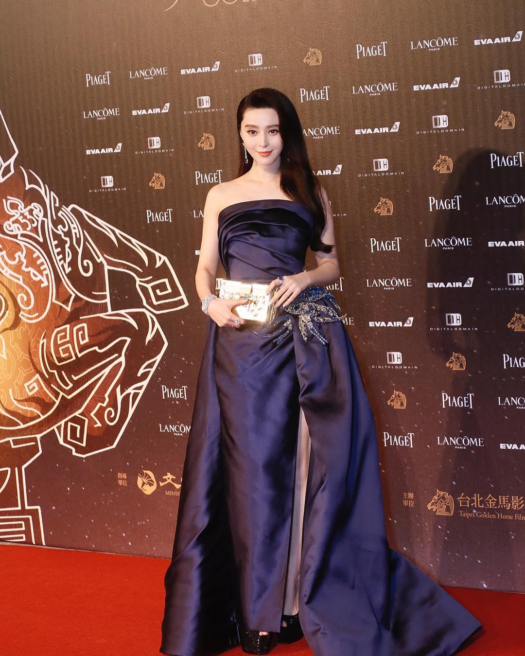 Hình ảnh Phạm Băng Băng diện váy đen