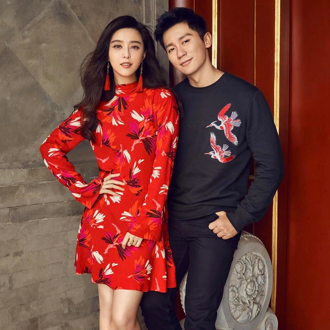 Hình ảnh Phạm Băng Băng diện váy đỏ
