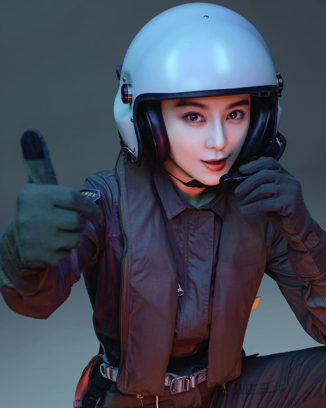 Hình ảnh Phạm Băng Băng đóng phim