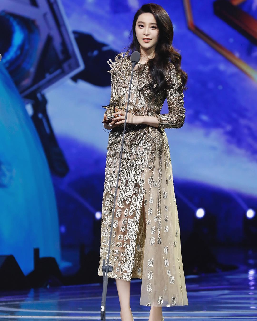 Hình ảnh Phạm Băng Băng trên sân khấu