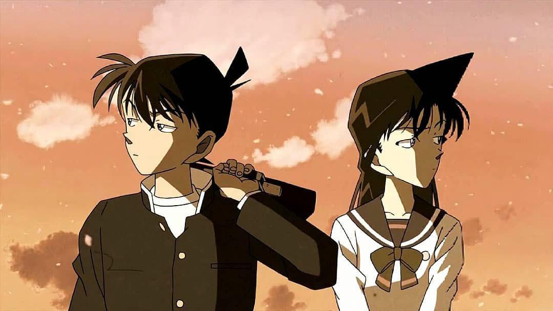 Hình ảnh Ran và Shinichi