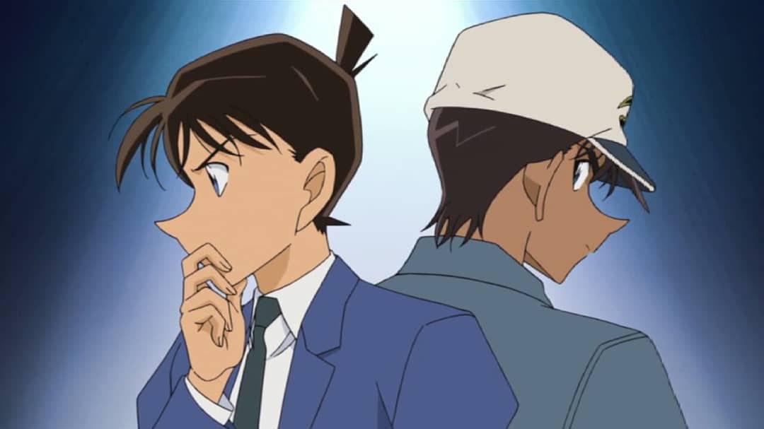 Hình ảnh Shinichi và Heiji hattori