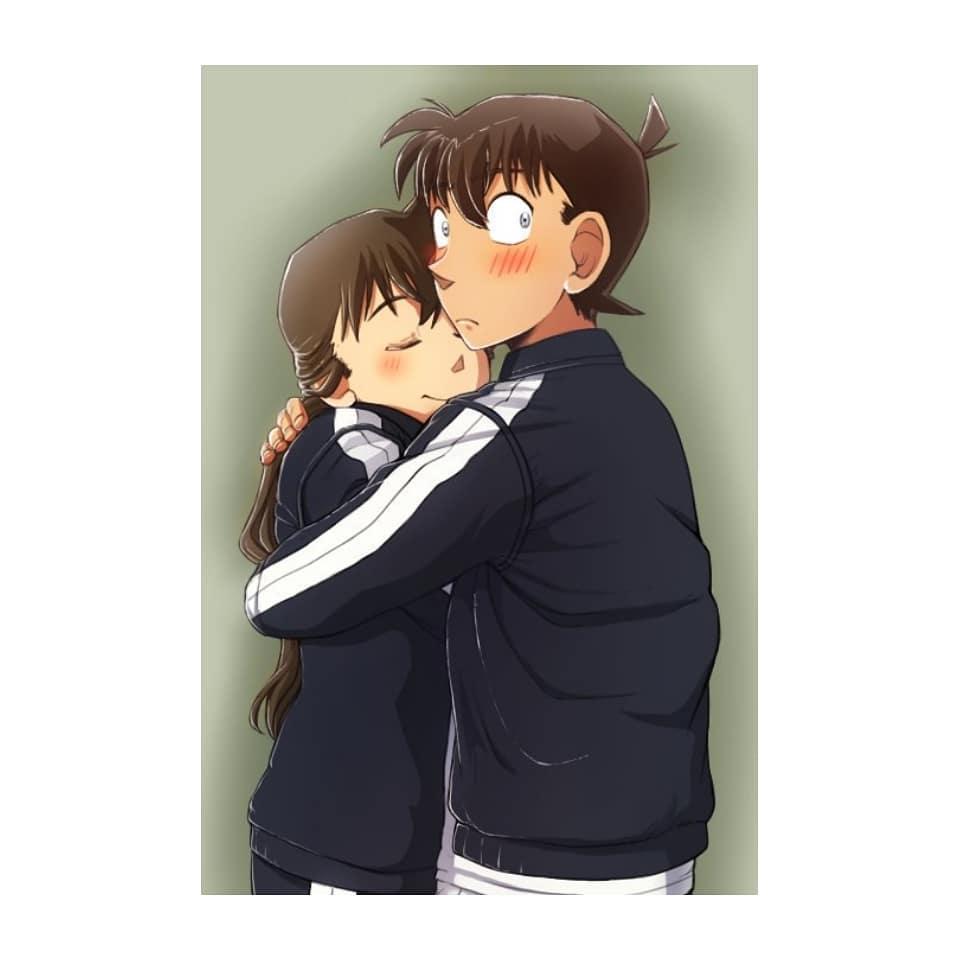 Hình ảnh Shinichi và Ran mori
