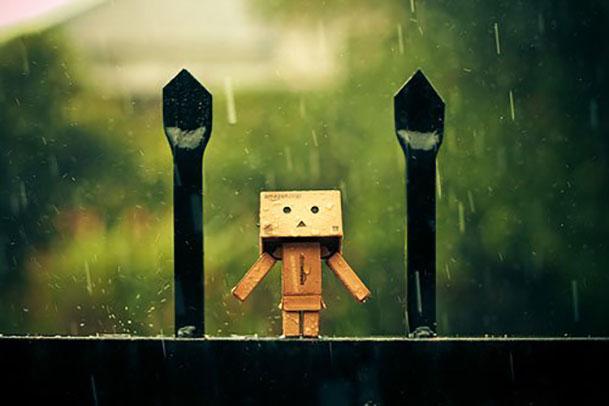 Hình ảnh trời mưa buồn