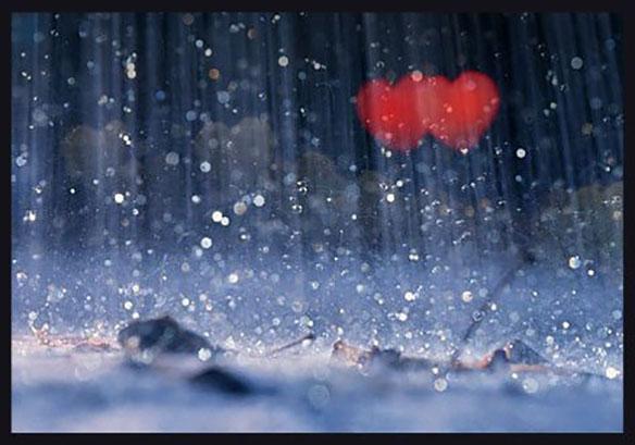 Hình ảnh trời mưa lãng mạn