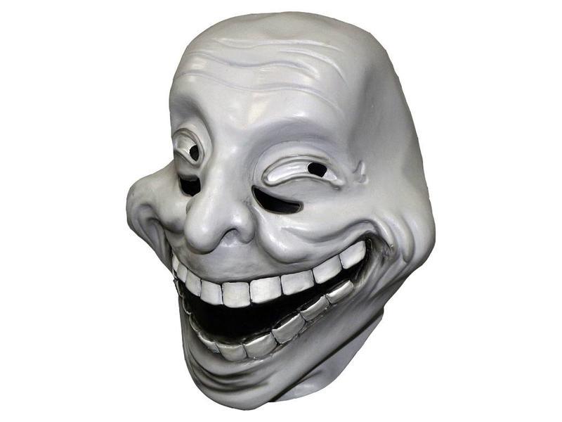 Hình mặt troll hài hước 3D