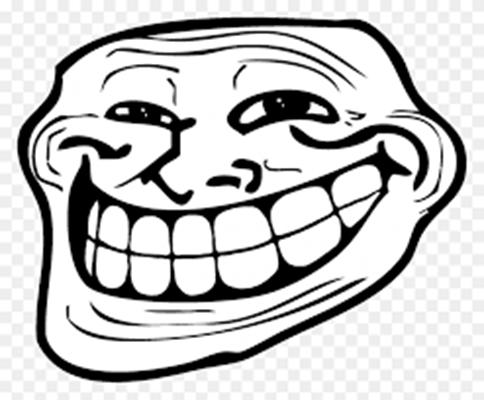 MẶt troll cười