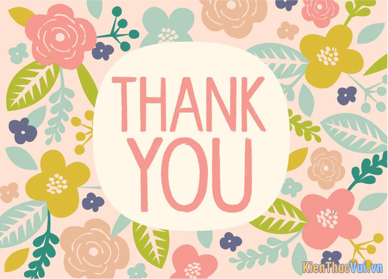 Mẫu lời cảm ơn trong báo cáo thực tập tốt nghiệp chuyên ngành kế toán