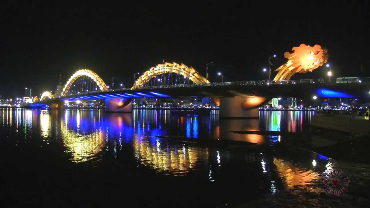 Những hình ảnh đẹp nhất về cầu Rồng Đà Nẵng