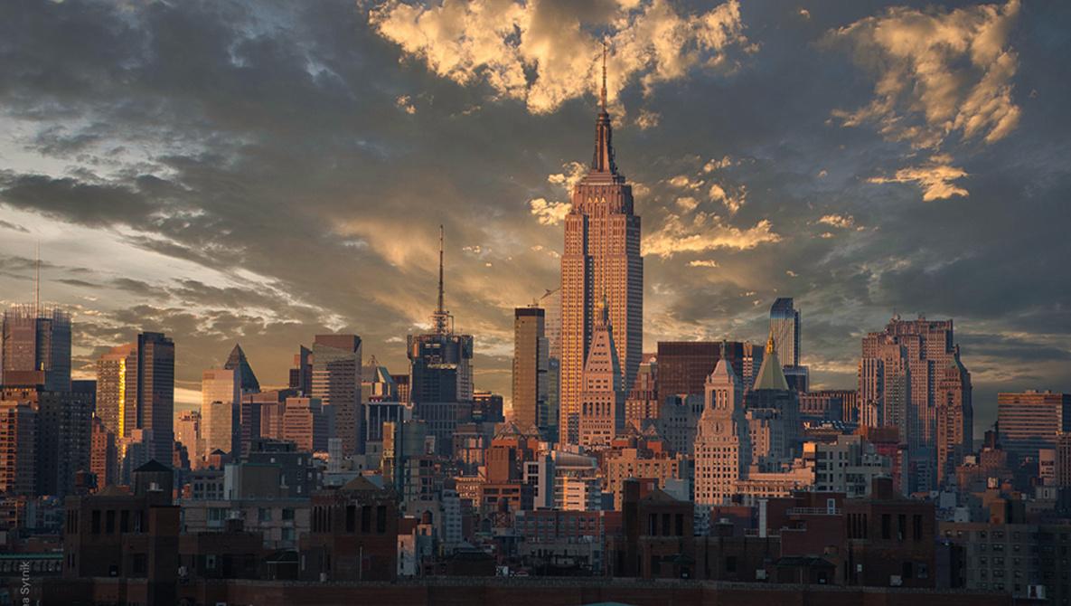 Ảnh bầu trời đẹp trên thành phố