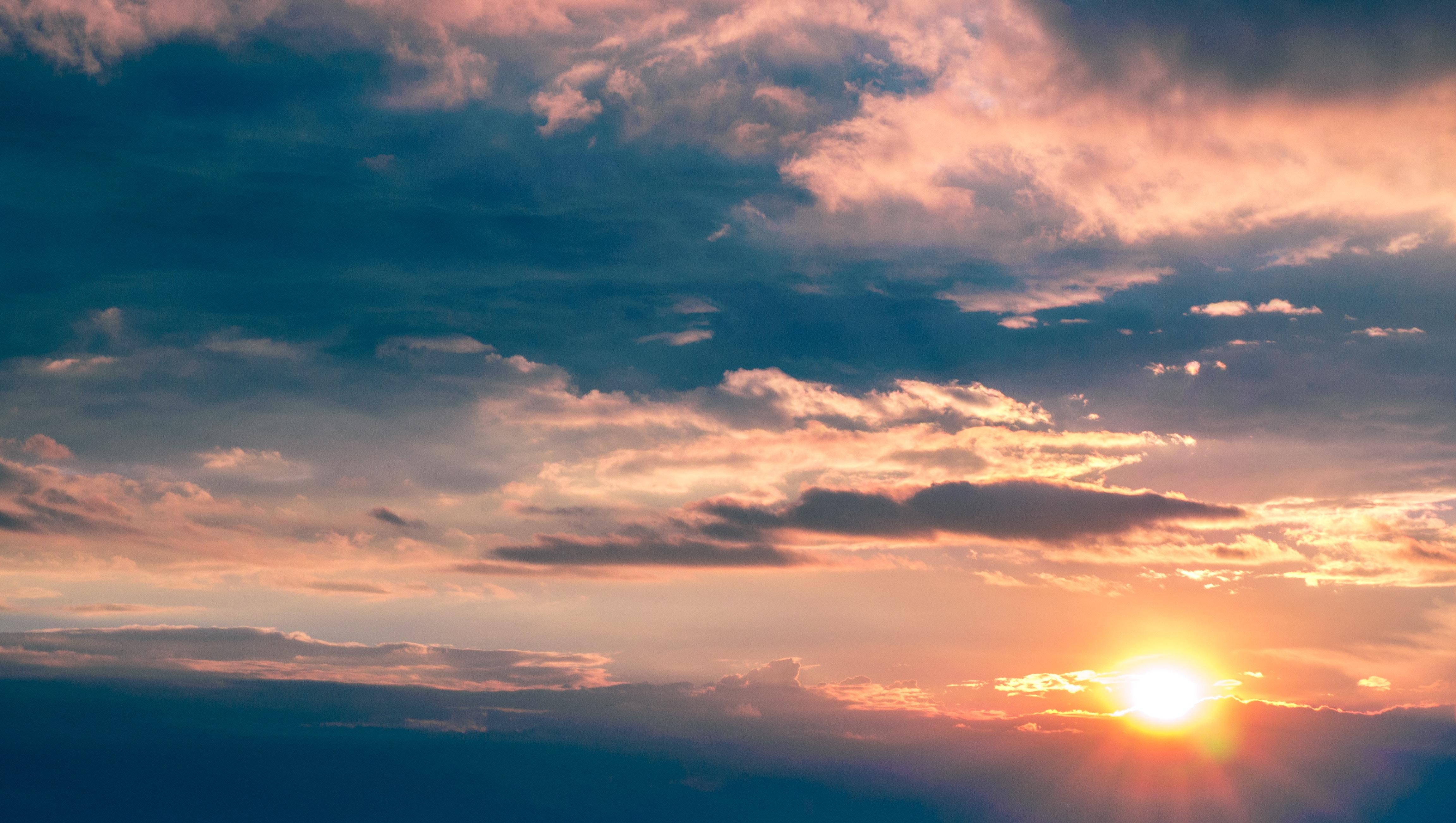 Ảnh bầu trời hoàng hôn rất đẹp