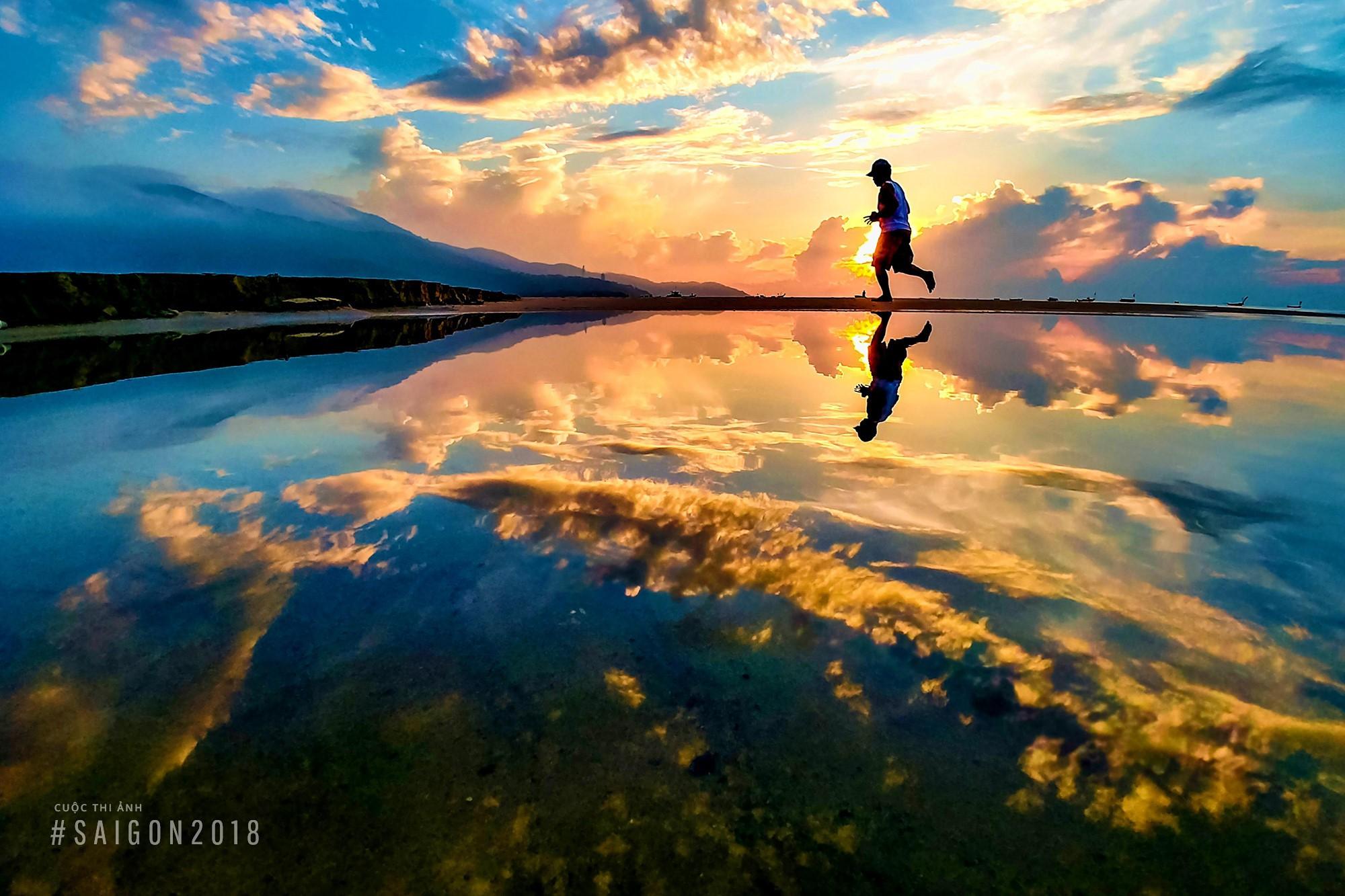 Ảnh bầu trời khi bình minh cực đẹp trên Việt Nam